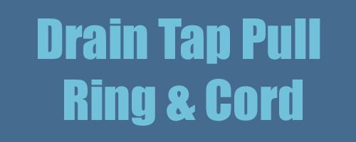 Drain Tap Pull Ring & Cord 1