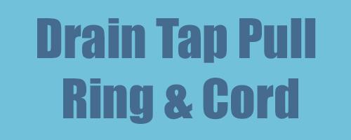Drain Tap Pull Ring & Cord 2