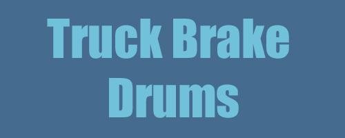 Truck Brake Drums 1