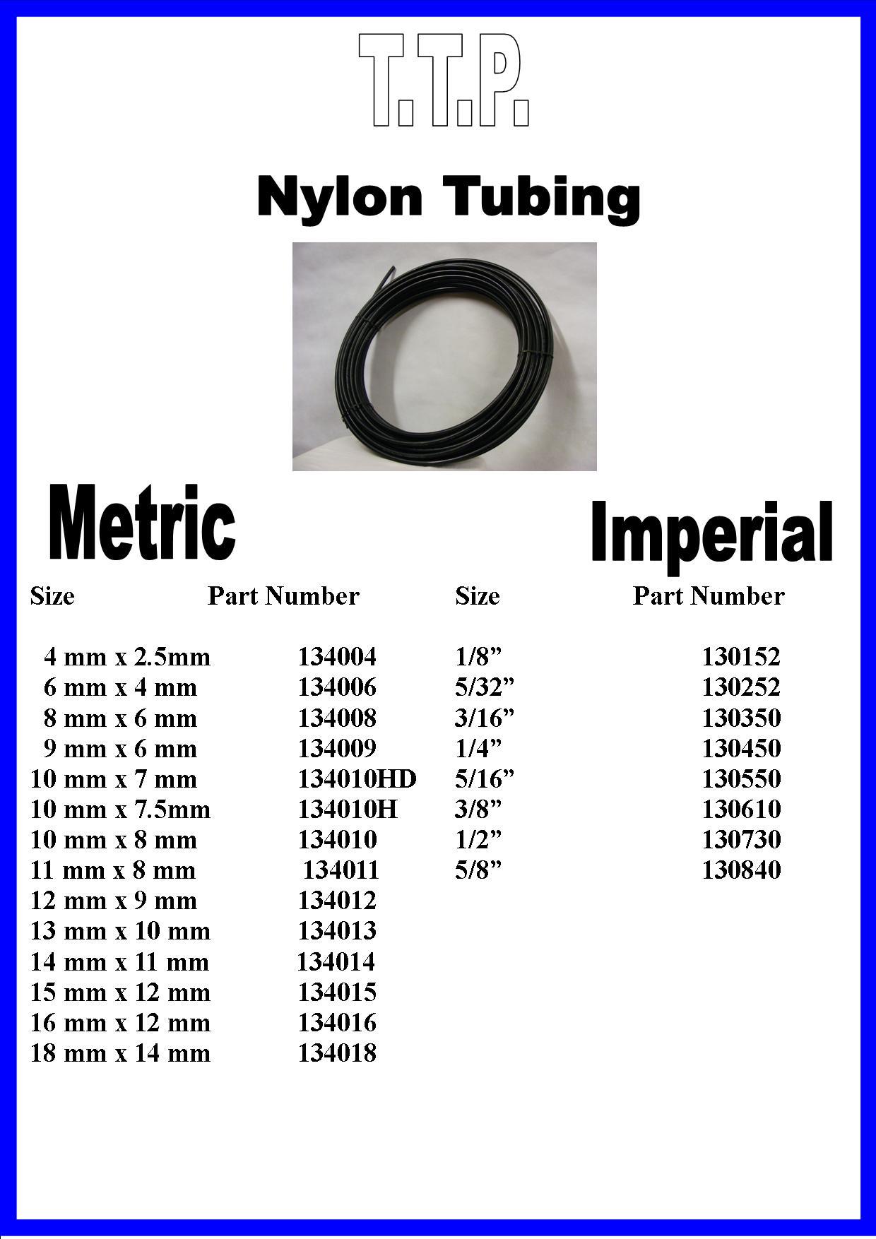 Truck & Trailer Nylon Tubing