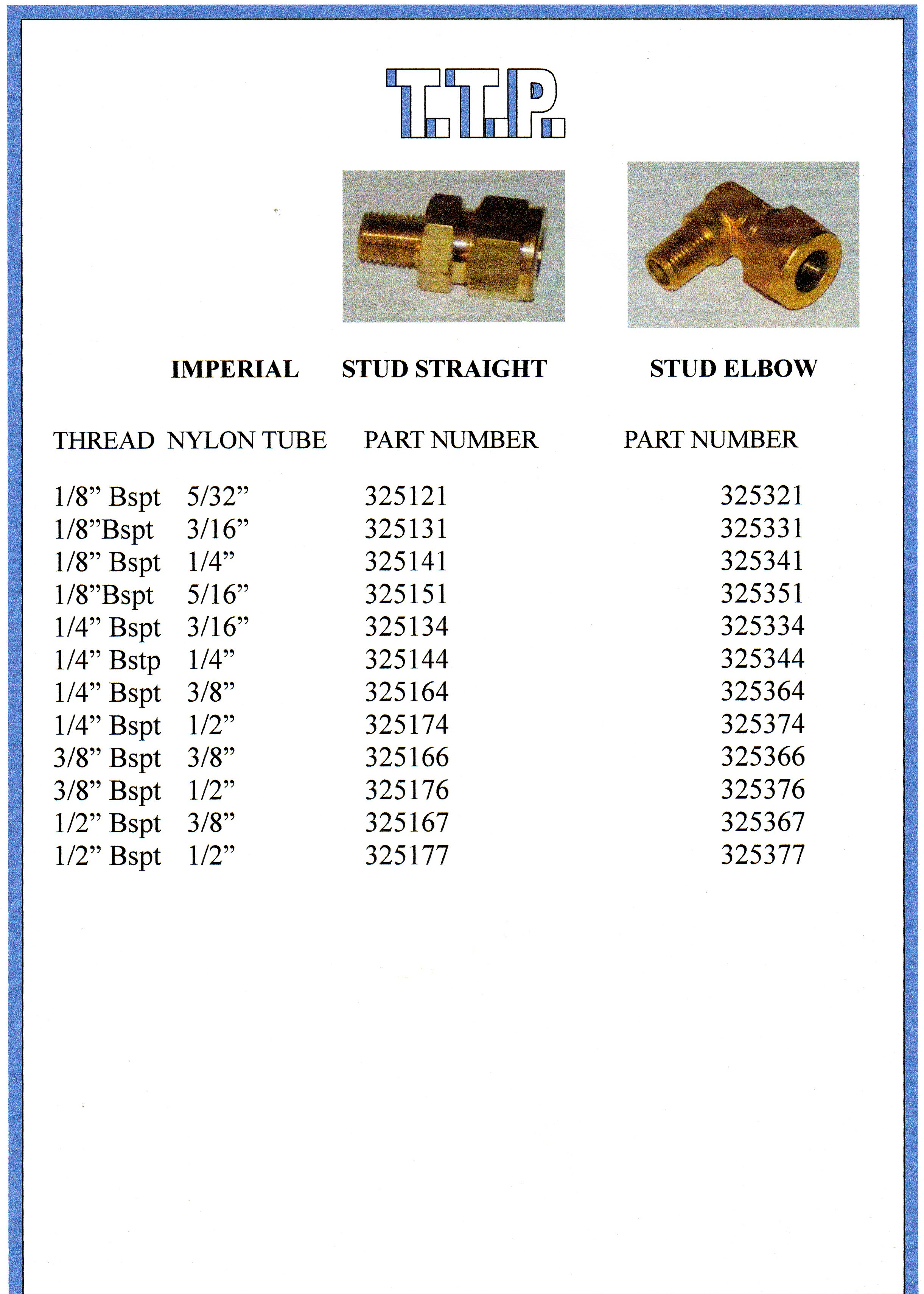Truck & Trailer Brass Connectors 4